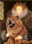 QUEEN ELIZABETH I<br>& Chow Chow