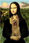 MONA LISA<br>& Silky Terrier