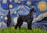 STARRY NIGHT<br>& Giant Schnauzer