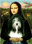 MONA LISA<br>& Bearded Collie (slate)