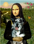 MONA LISA<br> & Catahoula Leopard Dog