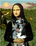 MONA LISA<br> & Catahoula Leopard Dog
