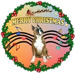 CHRISTMAS MUSIC (#2)<br>& Boxer #1