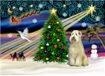 CHRISTMAS MAGIC<br> & Wheaten Terrier #10