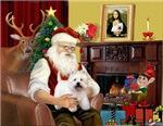 SANTA AT HOME<br>& West Highland Terrier #5