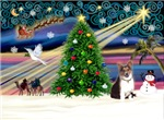 CHRISTMAS MAGIC<br>& Welsh Corgi (Tri) #9