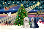 CHRISTMAS MAGIC<br>& 2 Tibetan Terriers