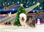 CHRISTMAS MAGIC<br>& Old English Sheepdog