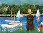 SAILBOATS & Affenpinscher