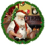 SANTA AT HOME<br>& Pomeranian