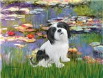WATER LILIES<br>&Lhasa Apso #2