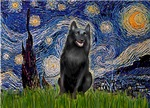 STARRY NIGHT<br>&Schipperke #5