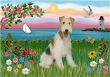 LIGHTHOUSE<br>& Wire Fox Terrier