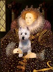 QUEEN ELIZABETH I<br>& West Highland Terrier#6