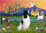 FANTASY LAND<br>& English Springer Spaniel (BW)