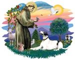 St. Francis #2 &<br>Greyhound (White with black)