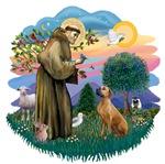 St. Francis #2 &<br>Rhodesian Ridgeback #2