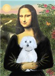 Mona Lisa <br>With Maltese (B)
