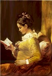Girl Reading &<br>Maltese