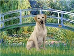 LILY POND BRIDGE<br>Yellow Labrador 7