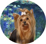 Yorkshire Terrier (#7)<br>in Lilies #5