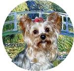 Yorkshire Terrier #13<br>in Lily Pond Bridge
