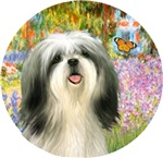 Shih Tzu #3<br>Garden at Giverney