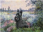 BY THE SEINE<br>With a Scottish Terrier