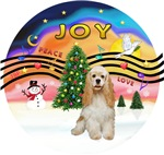CHRISTMAS MUSIC #2<br>Buff Cocker Spaniel #1