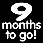 Countdown through the months of pregnancy