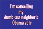 cx dumb-ass vote