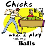 Billiards T-shirts and Suggestive Pool Gifts