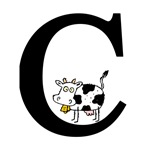Letter C for Cow T-shirts & Gifts