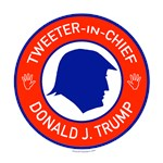 Trump Tweeter in Chief T-shirts, Swag