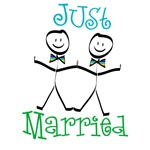 Just Married Groom-Groom T-shirts and Gifts