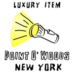 Flashlight Point O' Woods T-shirts & Gifts