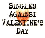 Singles Against Valentine's Day T-shirts