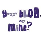 Blogger T-shirts, tee, tshirt gifts