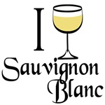 I Love Sauvignon Blanc T-shirts and Gifts