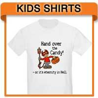 Kids Halloween T shirts