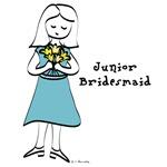 Junior Bridesmaid Girls Tshirts & Gifts