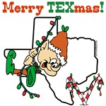 Merry Texmas T-shirts, Holiday Gifts