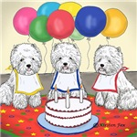 Birthday Party Westies