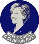 Never count a Clinton out!