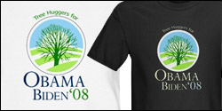 Tree Huggers for Obama