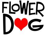 Flower Dog Bridal Party Dog T-Shirts