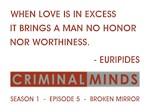 WHEN LOVE IS...