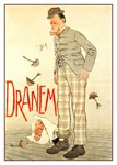Dranem Rare Vintage Play Advertising Print