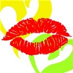 OYOOS Lip Heart design