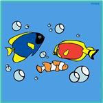 OYOOS Fishes design